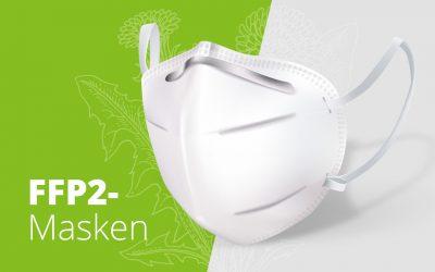 Weitere FFP2-Masken verfügbar